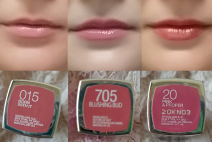 Maybelline_Lipsticks_First Row